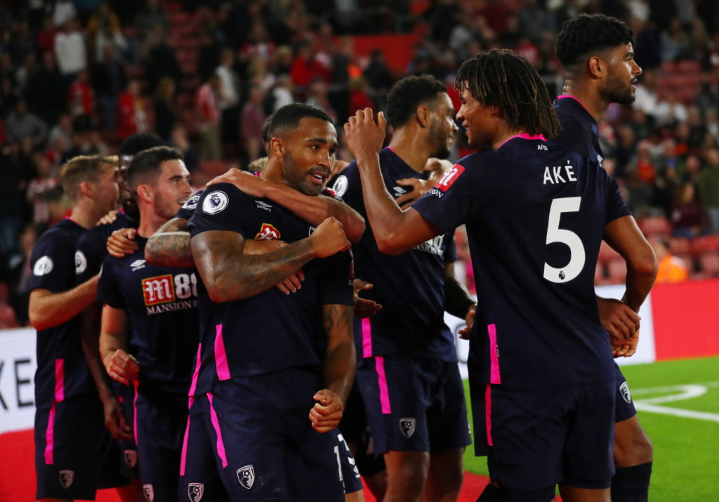 Bournemouth have moved up to third place in the Premier League after a securing a first victory at the St Mary's home of south coast rivals Southampton.