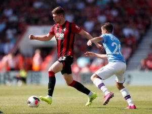 Bournemouth will be hoping the injury which forced Chris Mepham out of Wales' friendly international against Belarus on Monday is nothing serious.