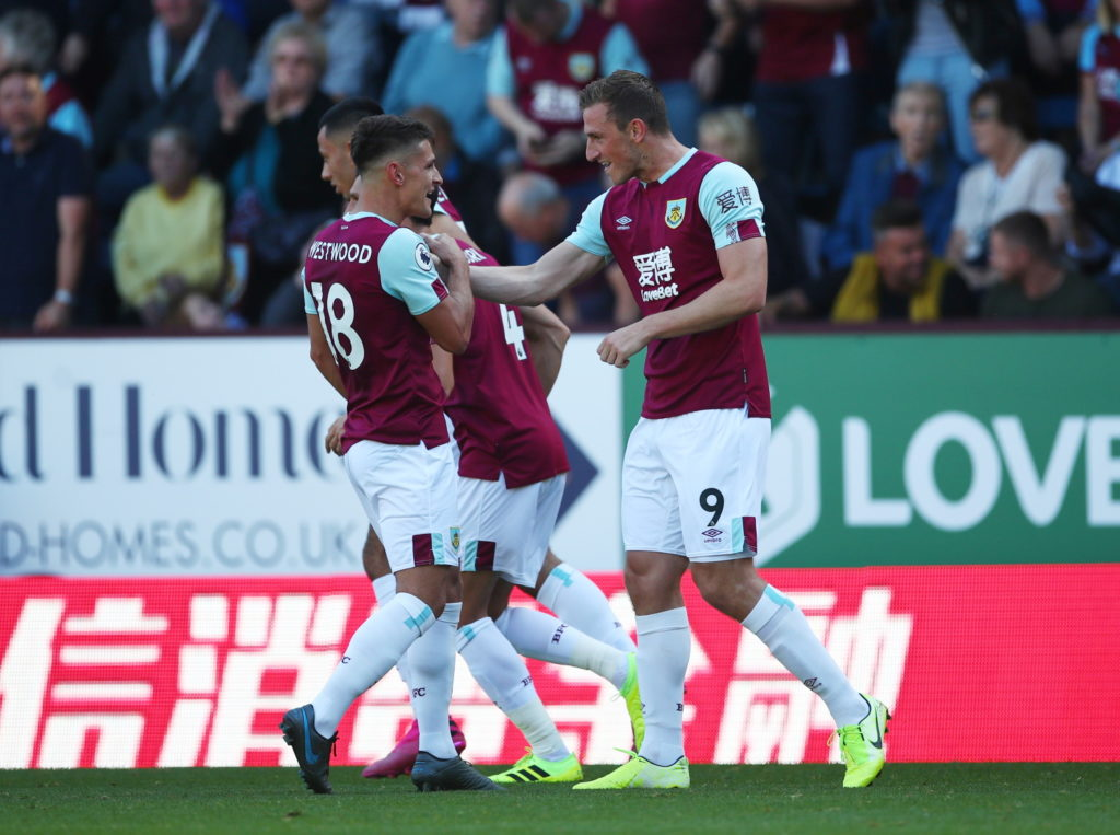 Burnley brought Norwich City back down to earth with a 2-0 Premier League win at Turf Moor.