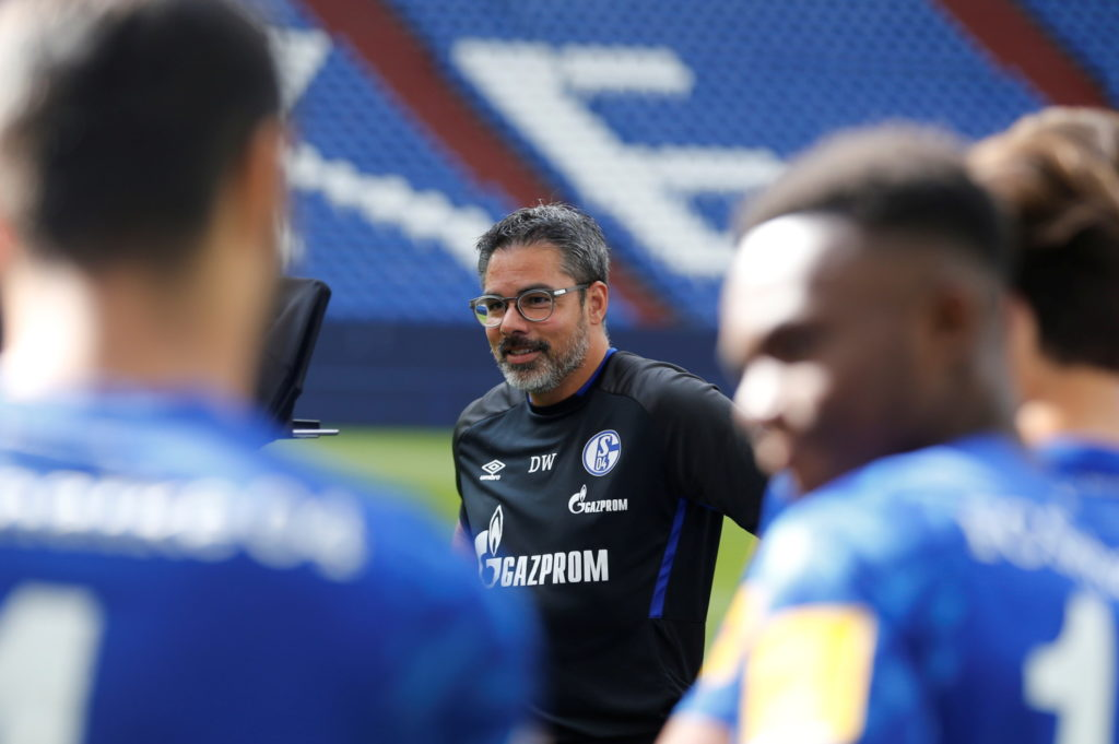 Schalke manager David Wagner disappointed with dropped points.