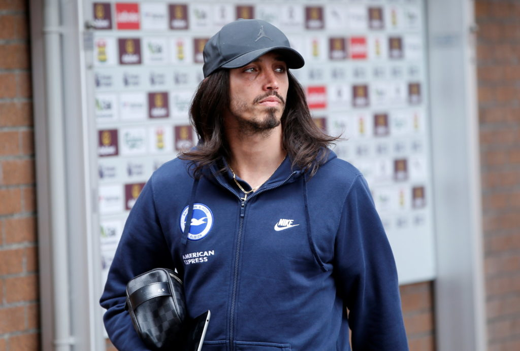 Brighton could have defender Ezequiel Schelotto back from a knee injury for the visit of Burnley, who expect to have Dwight McNeil and Ashley Barnes fit.