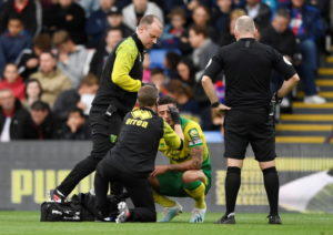 Norwich boss Daniel Farke fears Jamal Lewis may have broken his elbow as the injuries continue to stack up for the Canaries.