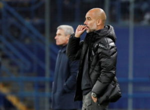 Pep Guardiola has turned his attentions to Manchester City's clash with Watford and has suggested he may have to tinker with his defence again.