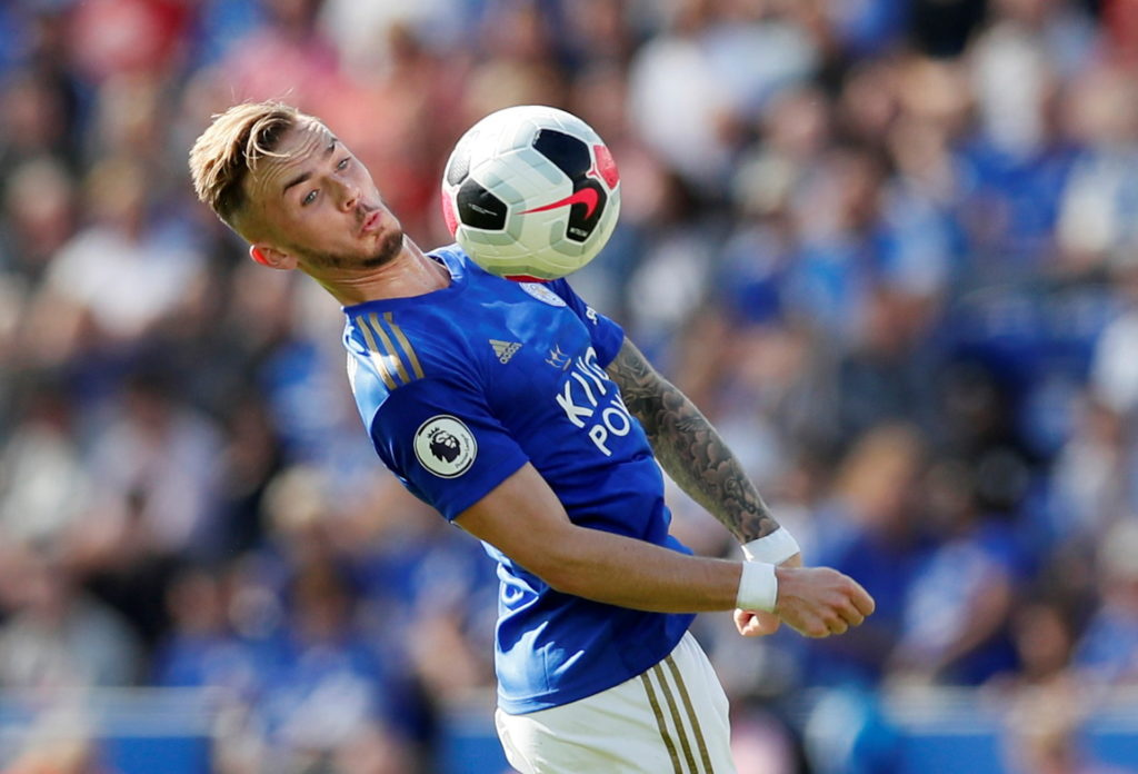 James Maddison has revealed Leicester boss Brendan Rodgers sees him operating in a role similar to Philippe Coutinho.