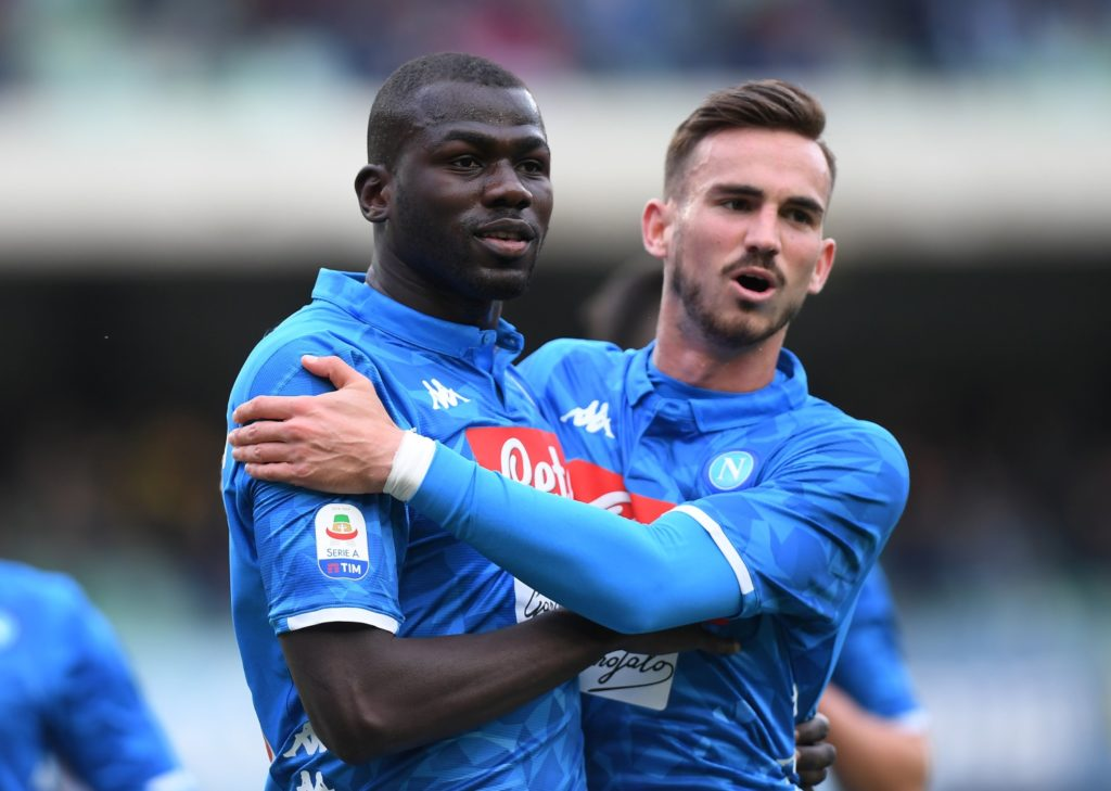 Kalidou Koulibaly is a Man City target.