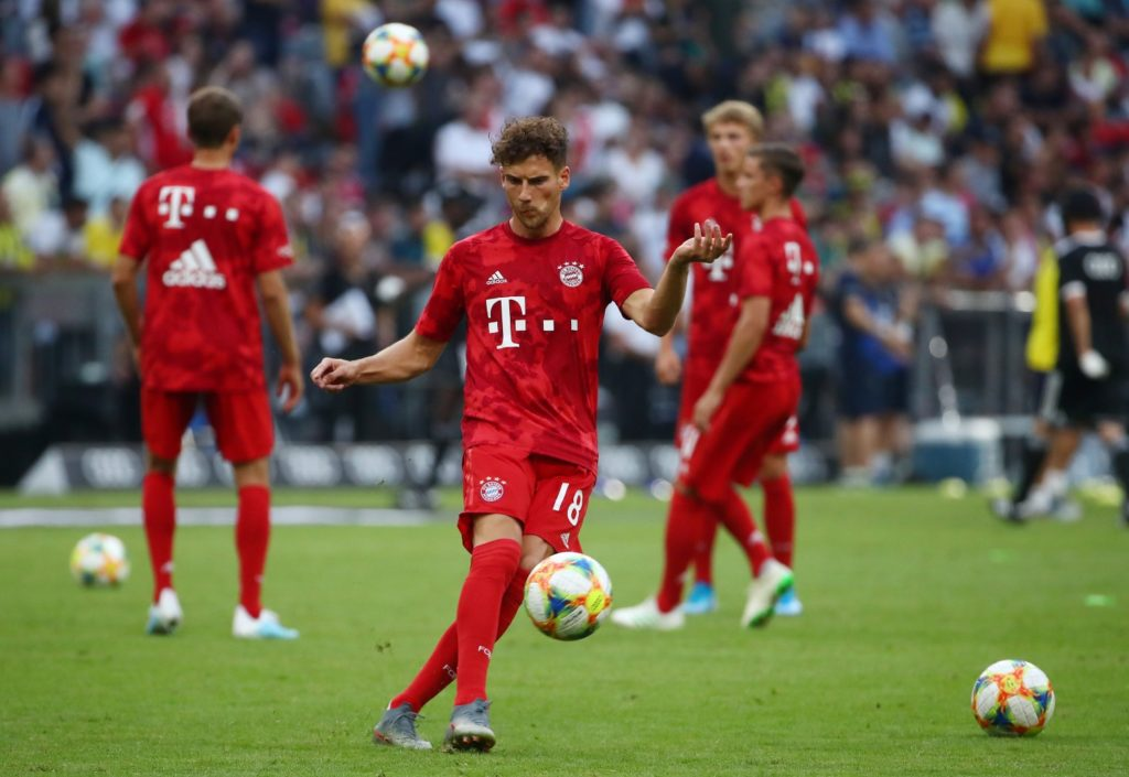 Leon Goretzka has returned to Bayern Munich for treatment after suffering an injury setback while on international duty with Germany.