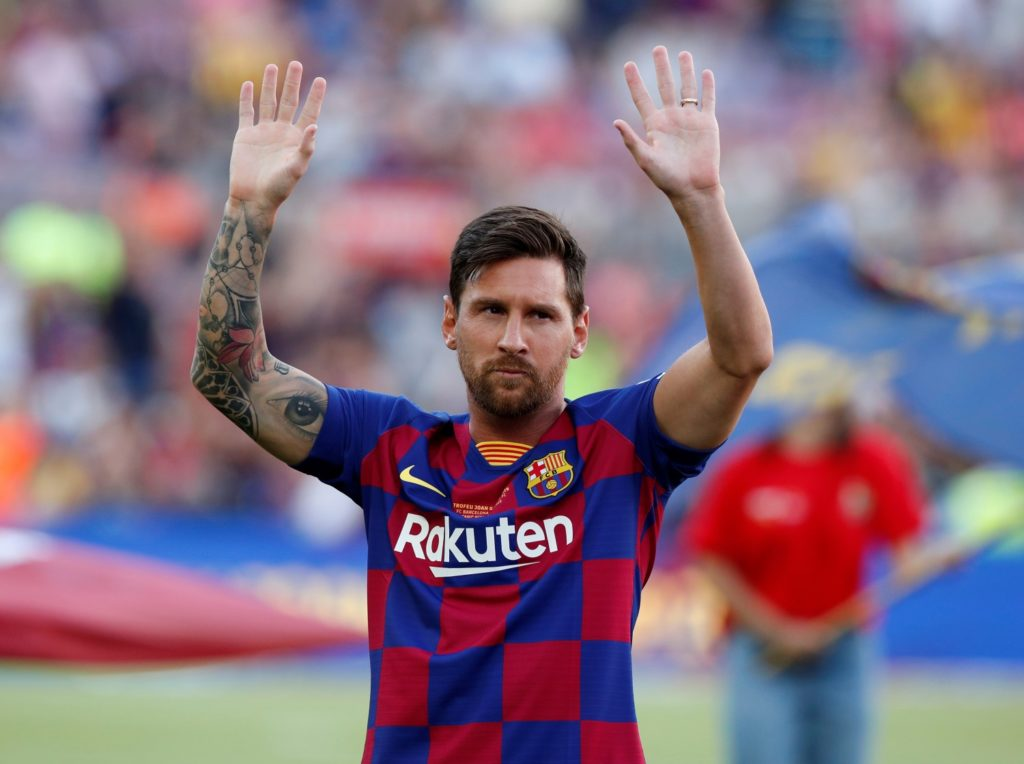 Barcelona are reportedly set to push on with new contract talks with talisman Lionel Messi as he approaches the end of his current deal.