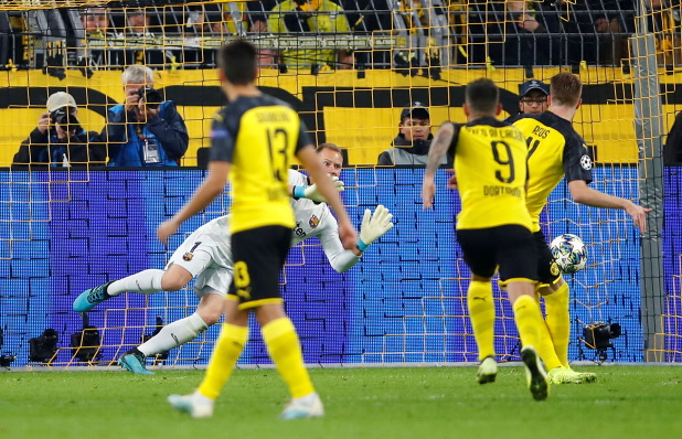 Marco Reus says Borussia Dortmund paid the price for a number of missed chances as they had to settle for a goalless draw with Barcelona.