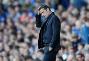 Everton manager Marco Silva could not believe how nervous his players were as they slipped to a 2-0 home defeat against Sheffield United.