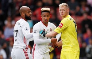 Republic of Ireland boss Mick McCarthy is delighted David McGoldrick and Callum Robinson are performing well in the Premier League at Sheffield United.