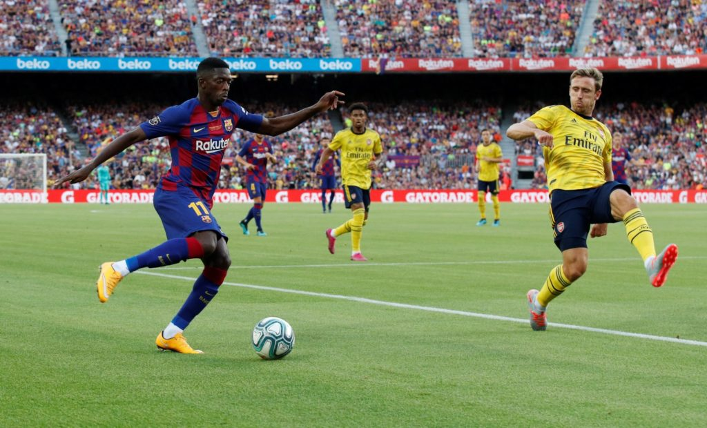 Ousmane Dembele's reluctance to leave Barcelona was the reported reason behind the club's failure to sign Neymar in the summer transfer window.