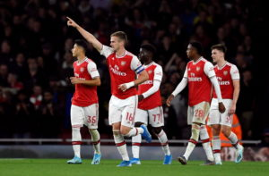 "Rob Holding said his goalscoring comeback for Arsenal in the Carabao Cup against Nottingham Forest was like ""a dream""."