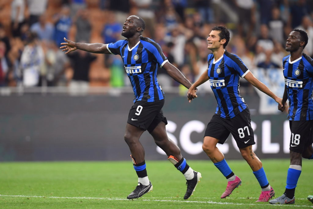 "Romelu Lukaku is delighted with his summer move from Manchester United to Inter Milan and wants to ""help them build something here""."