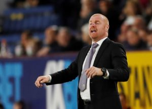 Burnley boss Sean Dyche ready to make changes.