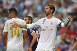 Real Madrid could be without Sergio Ramos for the Champions League clash against Paris Saint-Germain after he suffered a calf problem against Levante.