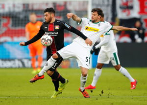 Tobias Strobl has handed a Borussia Monchengladbach a boost ahead of Saturday's derby against Cologne by returning to training following a knee injury.