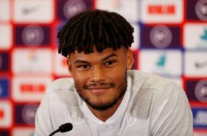 Tyrone Mings is hoping to be handed his England debut at St Mary's on Tuesday after he was rejected by Southampton as a youngster.