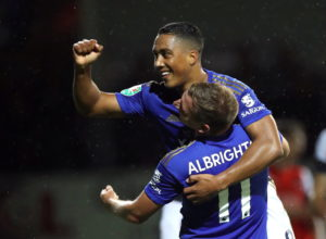 Leicester eased into the fourth round of the Carabao Cup with a 4-0 win against Luton Town at Kenilworth Road.