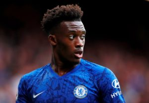 Chelsea winger Callum Hudson-Odoi says it was an easy decision to stay.