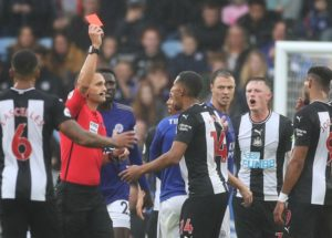 """The FA will take no action after Isaac Hayden allegedly mouthing """"what's the point of playing?"""" following his red card on Sunday."""