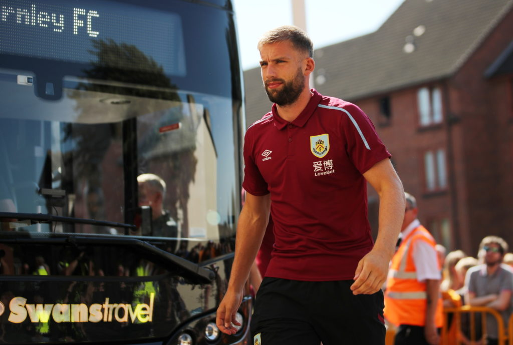Sean Dyche believes left-back Charlie Taylor could be the latest Burnley player to force his way into the England set up.