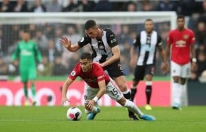 Newcastle defender Ciaran Clark admits he held talks with boss Steve Bruce regarding his future at the club during the summer.