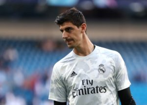 "Real Madrid have described reports goalkeeper Thibaut Courtois suffered an anxiety attack against Club Brugge as ""absolutely false""."