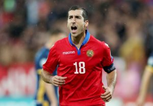Italian Serie A outfit AS Roma have suffered a blow on the injury front as midfielder Henrikh Mkhitaryan is set to miss the next three weeks.