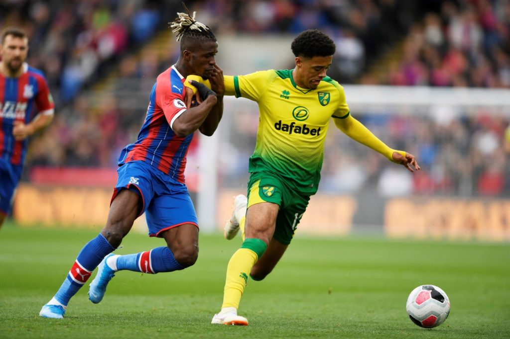 Jamal Lewis has not fractured his elbow but it would be a risk for Canaries boss Daniel Farke to start him in this weekend's clash against Aston Villa.