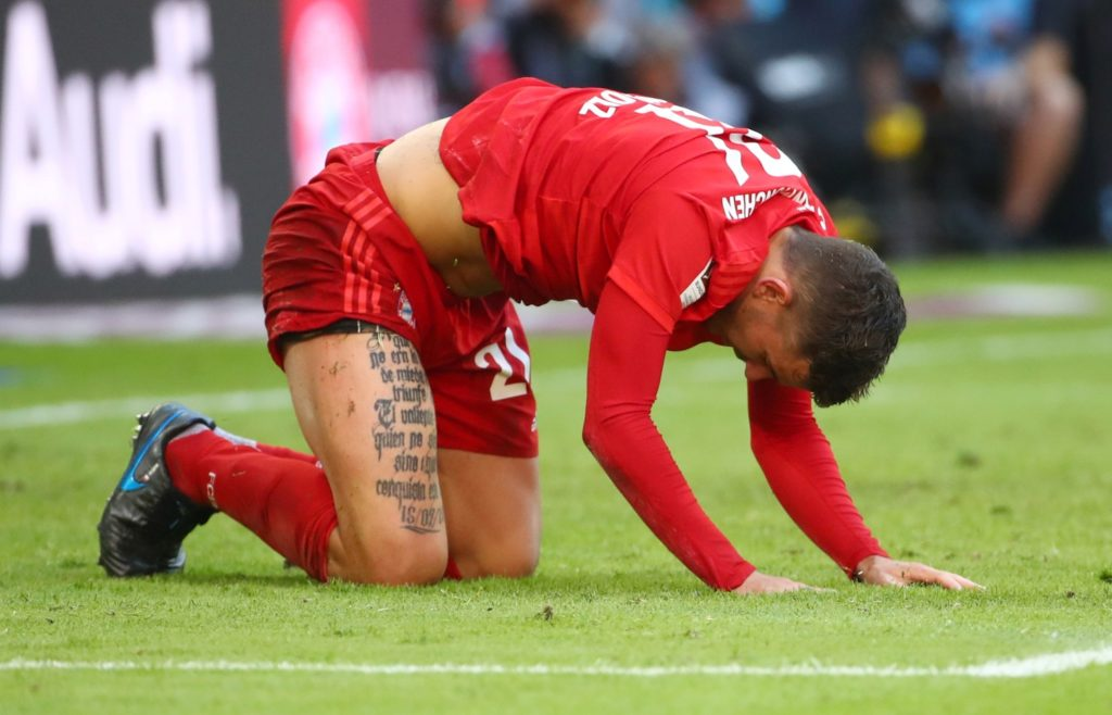 """Lucas Hernandez says he left Atletico Madrid as he wanted to take his game to the """"next level"""" at Bayern Munich."""