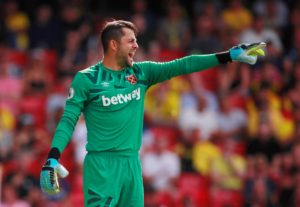 West Ham boss Manuel Pellegrini fears he could be without first-choice goalkeeper Lukasz Fabianski for up to three months due to a hip injury.