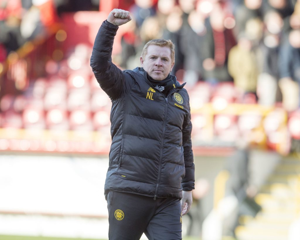 Neil Lennon spoke of a 'brilliant week' for Celtic following their 4-0 Ladbrokes Premiership hammering of Aberdeen at Pittodrie.