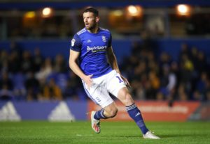 Lukas Jutkiewicz turned from villain to hero as dominant Birmingham beat Luton 2-1 at St Andrew's.