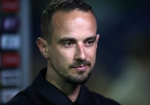 Mark Sampson praised Stevenage for taking the 'opportunity' of a League Two basement battle but warned there must be no let-up in their performances.