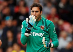The injury to Lukasz Fabianski looks to have hit West Ham hard, but his back-up, Roberto, is ready to take the reins.