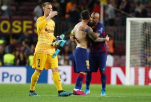Reports in Spain claim Barcelona are set to enter negotiations with goalkeeper Marc-Andre Ter Stegen over a new deal at the club.