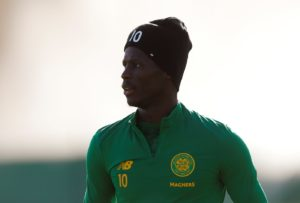 Celtic striker Vakoun Issouf Bayo is happy to bide his time as he bids to earn a regular place in Neil Lennon's team.