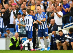 Aaron Mooy feels he is finally settling in at Brighton and believes that was reflected in his performance against Tottenham last weekend.