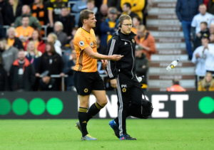 Wolves have a number of injury concerns as they prepare to face Slovan Bratislava in the Europa League on Thursday.