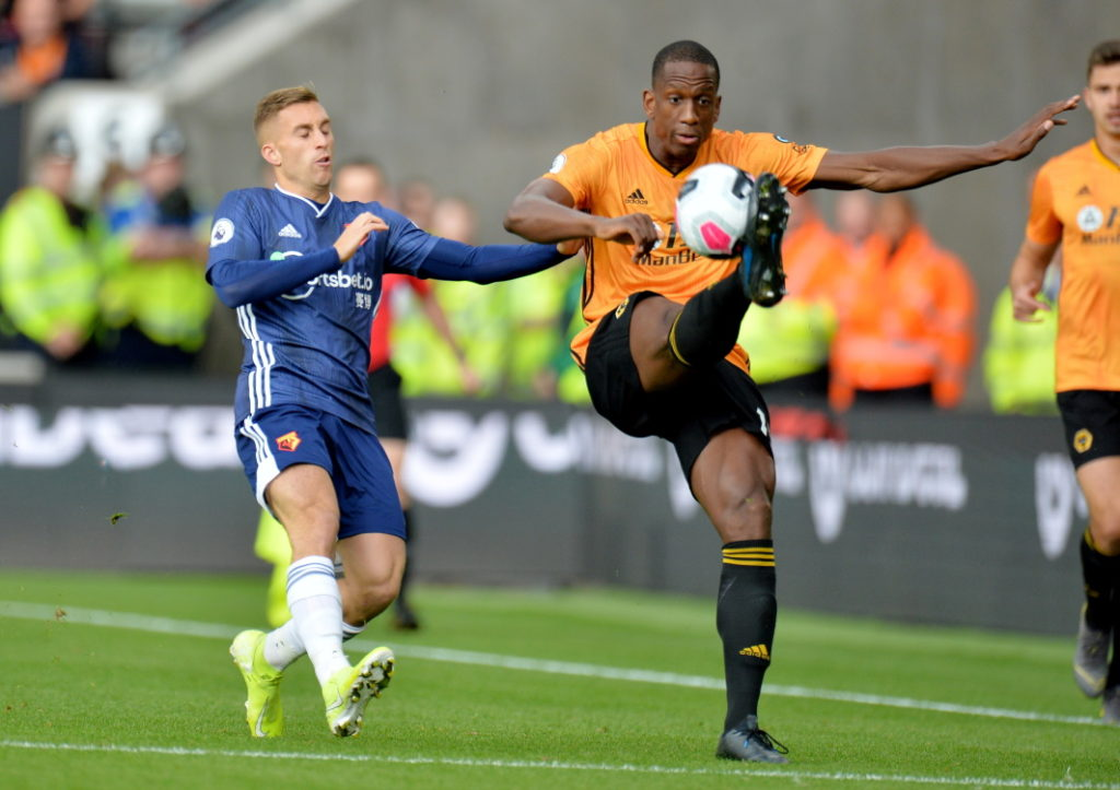 Wolves defender Willy Boly is facing months out.
