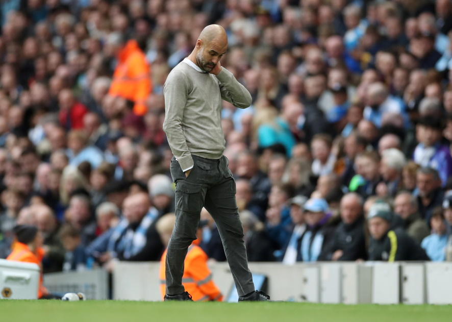 Manchester City boss Pep Guardiola is taking nothing for granted against Southampton.