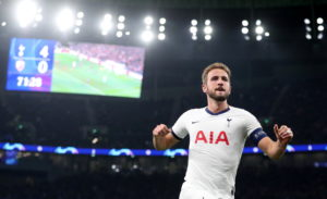 Tottenham picked up their first Champions League win of the season with a 5-0 Group B thrashing of Red Star Belgrade at the Tottenham Hotspur Stadium.