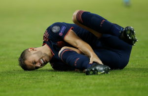 Bayern Munich have been hit by yet another serious injury blow after Lucas Hernandez limped off against Olympiakos.