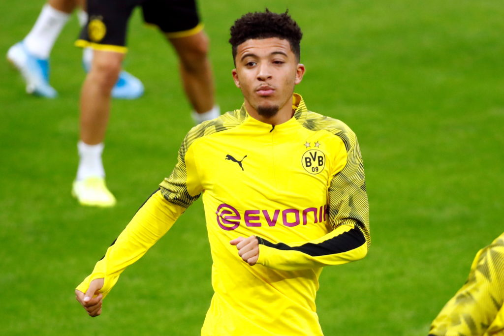 Jadon Sancho is reported to want out of Dortmund.