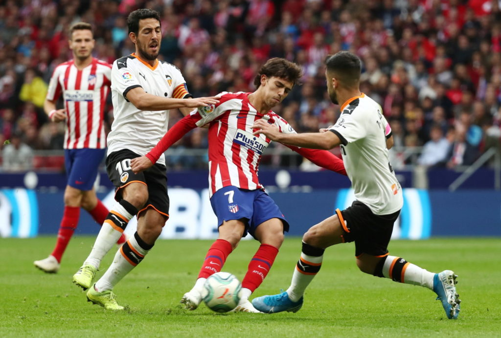 Atletico Madrid have been hit by the news forward Joao Felix is facing a three-week absence after suffering an ankle injury.