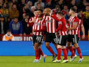 Lys Mousset scored the only goal of the game as Sheffield United ended Arsenal's run of five Premier League games without defeat at Bramall Lane.
