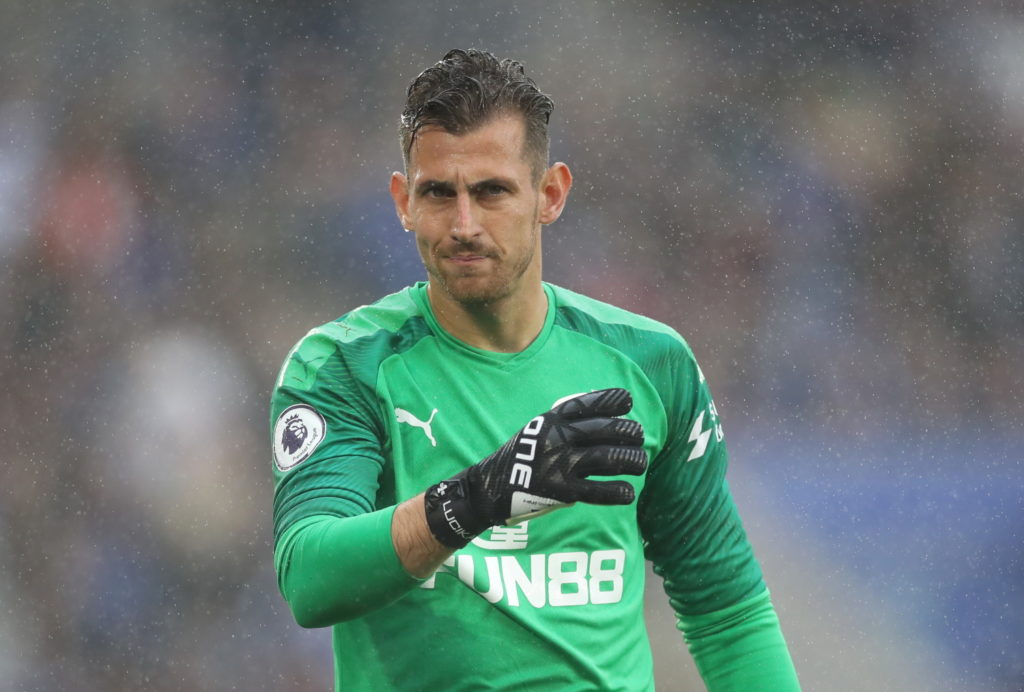 Newcastle officials are reportedly in talks to try and tie down goalkeeper Martin Dubravka to a new contract extension at St James' Park.