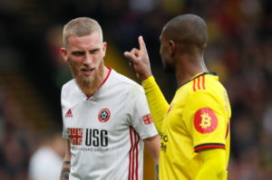 Sheffield United hope John Fleck, Oli McBurnie and David McGoldrick will be declared fit to face Arsenal at Bramall Lane on Monday night.
