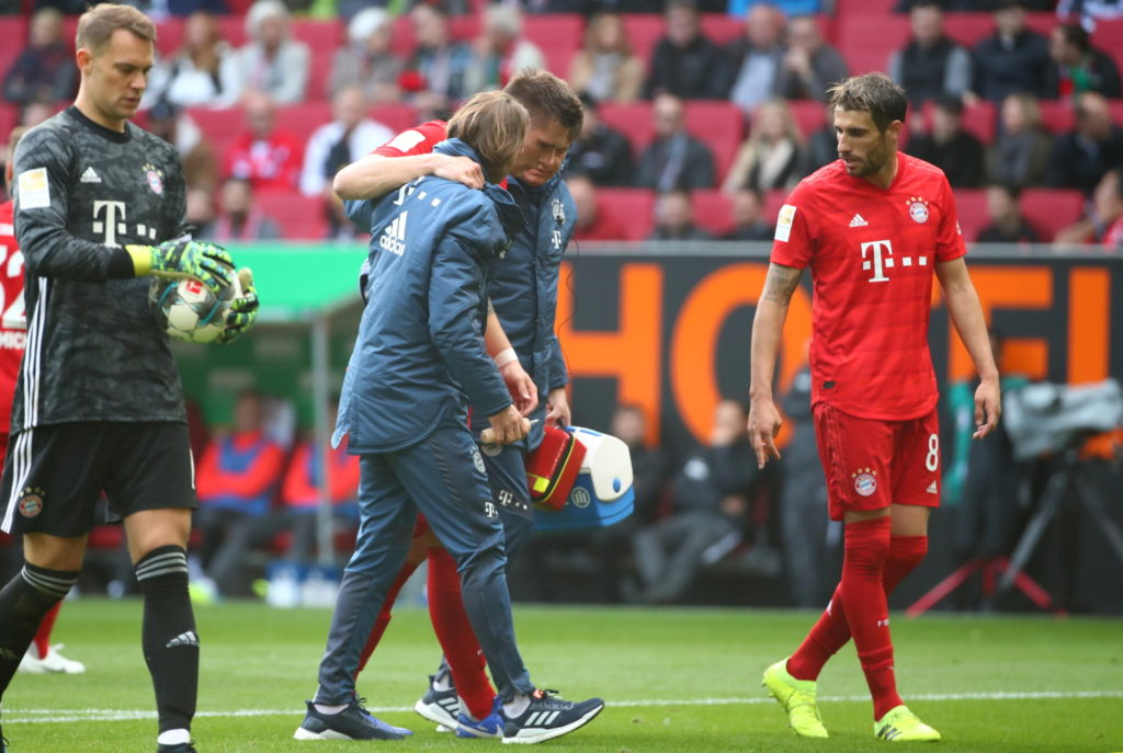 Niklas Sule looks set to miss the rest of Bayern Munich's season and possibly Germany's Euro 2020 campaign after he suffered an anterior cruciate ligament tear.