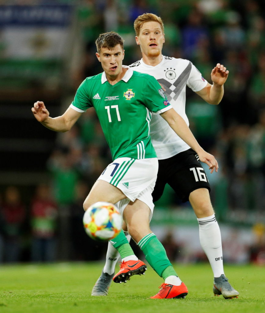 Northern Ireland midfielder Paddy McNair is hoping the Netherlands' players are complacent ahead of Thursday's Euro 2020 Group C qualifier in Rotterdam.